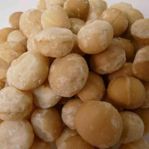 Macadamia- Kerne, roh, ganze große Kerne, Bio