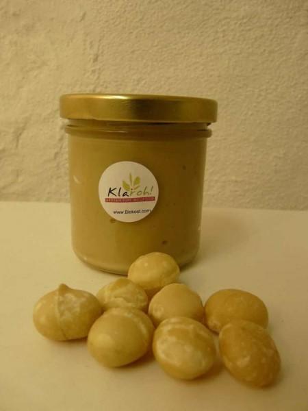 Macadamia - Mus, 160ml, Bio, Roh